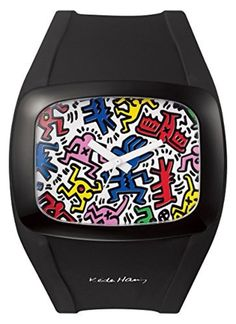KEITH HARING DD100A-60 Black/Multicolor by odm + -- Awesome products selected by Anna Churchill