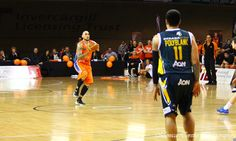 And there it is !!  Southland Sharks' Leon Henry's throw from half way that went in much to the delight of everyone inside Stadium Southland. Stadium Southland, June 21, 2013. Southland Sharks v Otago Nuggets. Southland Sharks 115 - 67 Otago Nuggets.