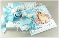Laserowe LOVE: Różowa i niebieska radość / Pink and blue joy Scrapbooking, Passion, Birthday, Cover, Books, Cards, Pink, Inspiration, Biblical Inspiration