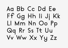 Acumen Typeface by Simon Bent, via Behance