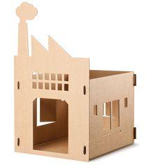 KEK Amsterdam Katzenspielhaus Old Factory online kaufen ➜ Bestellen Sie Katzenspielhaus Old Factory für nur 19,95€ im design3000.de Online Shop - versandkostenfreie Lieferung ab 50€!