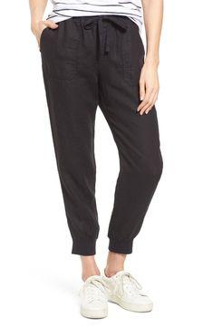 Caslon® Linen Jogger Pants (Regular & Petite) | Nordstrom