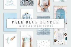 Pale Blue Bundle by Floral Deco on @creativemarket Social media creative design posts for promotion marketing design templates. Use it for quotes, tips, photos, etiquette, ideas, posts or for presentation your business agency, products sales or designs. Ready to use on Instagram, Pinterest, Facebook, Twitter your Blog or Website. #socialmedia #socialmediamarketing #instagram #design #stories #post #pinterest #feminine #story