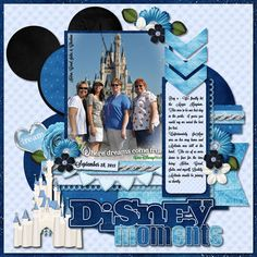 Disney Moments - SS #160 Credits: Template by Cindy Schneider - It's Magical Template Wishes and Dreams by Natalie's Place Designs Lavanderia Sturdy Font