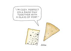 Stilton for @mmefromage  - illustrated by Johanna Kindvall