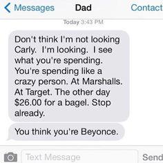 WEBSTA @ mytherapistsays - Live everyday like you're Beyoncé 🙌🏻 (@stepawayfrommyunicorn)