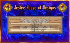 Custom Drumstick wall Display