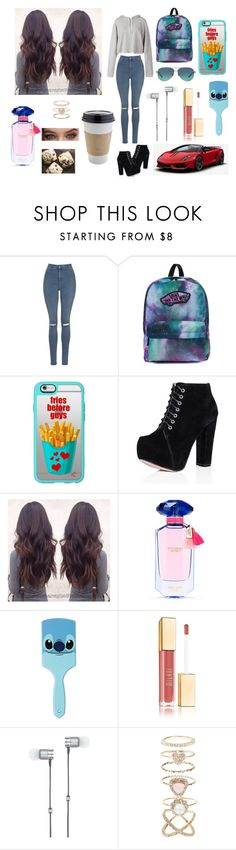 """Dollhouse - Melanie Martinez"" by samanthadanetti on Polyvore featuring moda, Faith Connexion, Topshop, Vans, Casetify, Victoria's Secret, Disney, Master & Dynamic, Accessorize y Tiffany & Co."