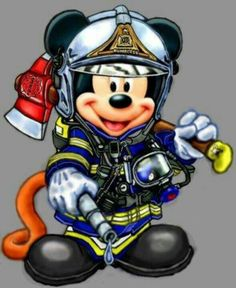 Mickey Fire Fighter