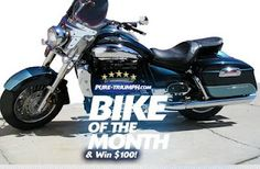 Antonio's Rocket III Touring, the July 2011 Bike of the Month!