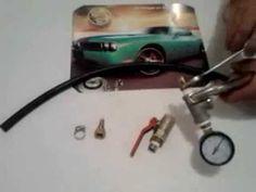 Medidor de presion de gasolina casero (facil y rapido de hacer)