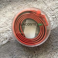 I just added this to my closet on Poshmark: Brand New Lacoste Belt. Price: $50 Size: OS