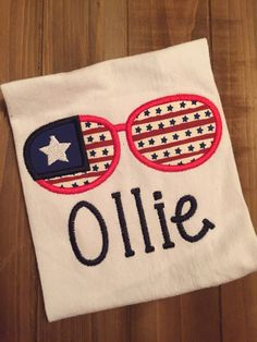 A personal favorite from my Etsy shop https://www.etsy.com/listing/277908838/patriotic-sunglasses
