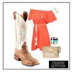 How to wear boots in the summer: Flowy dress