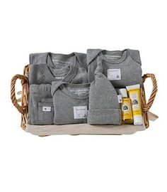 10 Piece Welcome Home Basket Gift Set - Burts Bees Baby