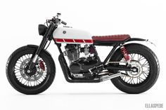 These days we see some of the best custom motorcycles being made from a variety of styles, and Dan's Yamaha XS400 here is a prime example.