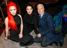 Lady Gaga, Marina Abramovic, Klaus Biesenbach - The Cut Marina Abramovic Spirit Cooking, Lindsey Wixson, Liya Kebede, New World Order, Surfs Up, Red Carpet Looks, Lady Gaga, Pop Culture, Hollywood