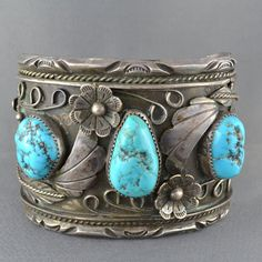 Signed Vintage Navajo Sterling Silver and by SDGoldRefinery