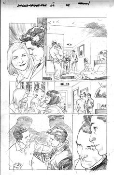 'Amazing Spider-Man #25' preview pencils