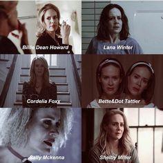 Sarah Paulson characters