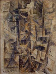 Pablo Picasso, Landscape at Céret, Céret, summer 1911. Oil on canvas, 25 5/8 x 19 3/4 inches (65.1 x 50.3 cm)