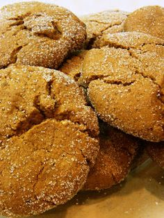 Eating My Words: Christmas Cookies #2: Ina Garten's Ultimate Ginger Cookies