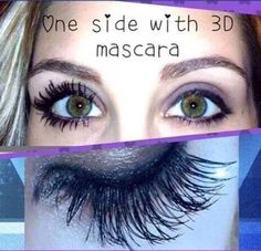 Just look at the difference between her lashes. Younique's 3D Fiber Lash Mascara really does make your eyes pop! To check out or order our amazing Younique products visit, http://www.stunningmascara.com/. For makeup tips and upcoming specials be sure to like my Facebook page, http://www.facebook.com/3dlasheswithchrissynutter. #Younique #Makeup #Lashes #3DFiberLash #Mascara #Glorious #Primer #Facebook #Eyes #Lips #LipGloss