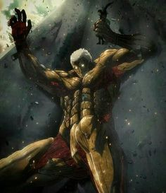 Oml even reiners titan form is hella sexy