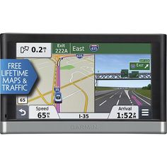 """Save $40 on Garmin - nüvi 2597LMT - 5"""" - Built-in Bluetooth - Lifetime Map and Traffic Updates - Portable GPS - Black/Gray, Sale $159.99, Plus Free Shipping!"""