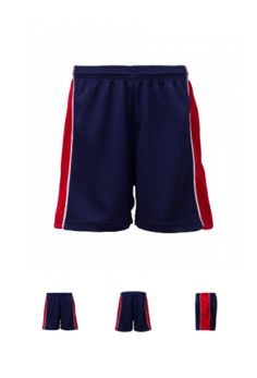 PS 1001 - Panelled Shorts with Piping. Fully functioning draw cords. All Eyelet Body, Panel and Piping.