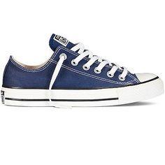 8e449bdd8ab5 Converse Women Men Chuck Taylors All Star M9697 Navy Canvas Lace Up Shoes