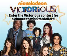 I'm not too sure what star dollars are, but this one is all about the faces of the brand. More than likely, the cast themselves have nothing to do with the sweepstake, but their faces alone create the urge for adolescent girls to partake.