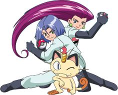 team rocket rockets and on