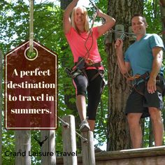 Grab a partner and make your way to one of the largest big zips in the United States. Kittatinny Canoes is located in Barryville. Come and enjoy your stay with Grand Leisure Travel. https://goo.gl/iXaVpt  #travel #traveling #destination #adventure #travel
