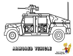 gusto army coloring pages armored vehicle httpwwwyescoloring
