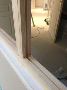 Interior Home Design Trends For 2020 - Ideas Diy Furniture, Home, Wooden Canopy, Glass Door, Deco, Framed Bathroom Mirror, Wood Diy, Wood Furniture Diy, Wood Canopy