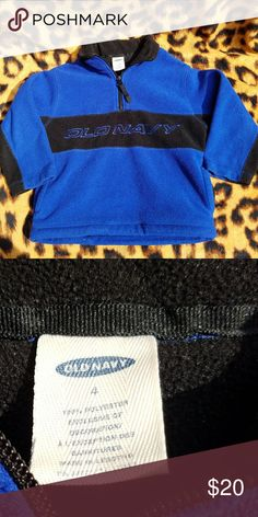 47cad919ddb 4t OldNavy Coat Old Navy size 4T blue and black coat used a couple times.
