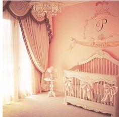Baby girl Nursery... adorable!!!!