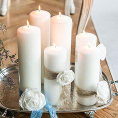 Round Pillar Candles