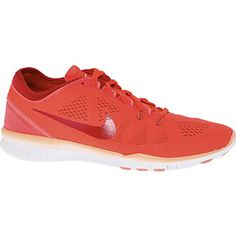 Neon Coral Free 5.0 Trainers
