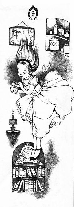 Alice in Wonderland illustrated by Marjorie Torrey