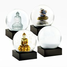 CoolSnowGlobes:Zen Mini Snow Globe