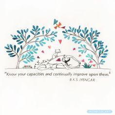 Conheça suas capacidades e melhore continuamente sobre elas!