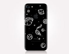 Transparent Planets Phone Case Transparent Case Clear by CRCases