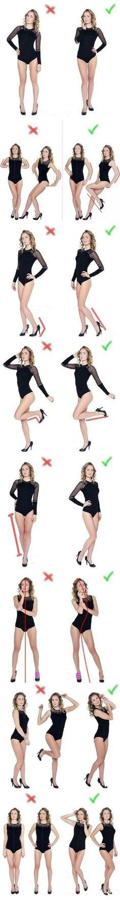 Que poses realizar para una correcta fotografia