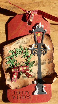 Christmas Tag - Scrapbook.com