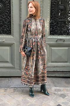 Fashion Director Arabella Greenhill At MFW SS17 Dress - Vilshenko Sweater - Cos Boots - Zara Bag - J.W.Anderson
