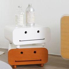 Happy Smiley Home Storage Box