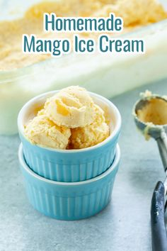 Try making this delicious, creamy and sweet mango ice cream using 4 ingredients only! This frozen dessert tastes so good that you would want for more! :) Tropical Desserts, Fun Desserts, Mango Health Benefits, Mango Pulp, Mango Ice Cream, Ice Cream At Home, Homemade Ice Cream, Condensed Milk, Ice Cream Recipes