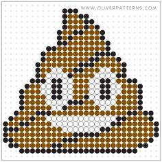 Perler Beads Poop Emoji Perler Bead Pattern Spa Covers Spa Covers are an economical solution to savi Cross Stitch Kits, Cross Stitch Embroidery, Cross Stitch Patterns, Perler Bead Emoji, Perler Beads, Plastic Canvas Crafts, Plastic Canvas Patterns, Hama Beads Patterns, Beading Patterns